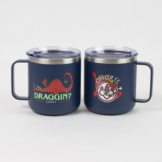 Draggin 12 oz Steel Tumbler